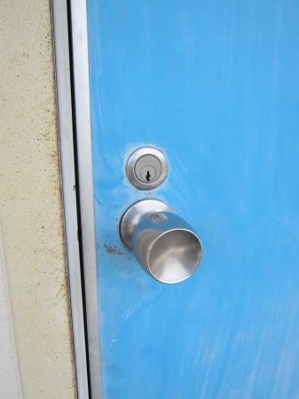 アパート_玄関の鍵