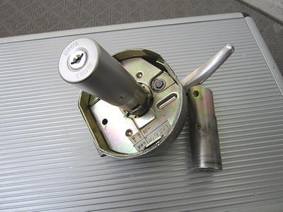 ミワ HP40 鍵交換