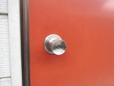 アパートの鍵交換(ディンプル)