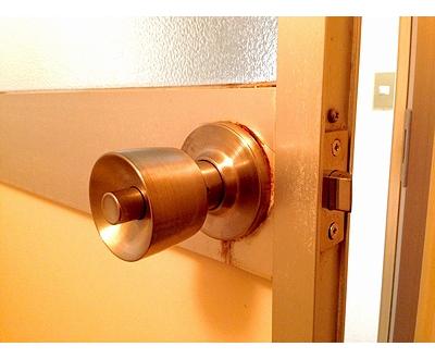 浴室 ドアノブ 円筒錠